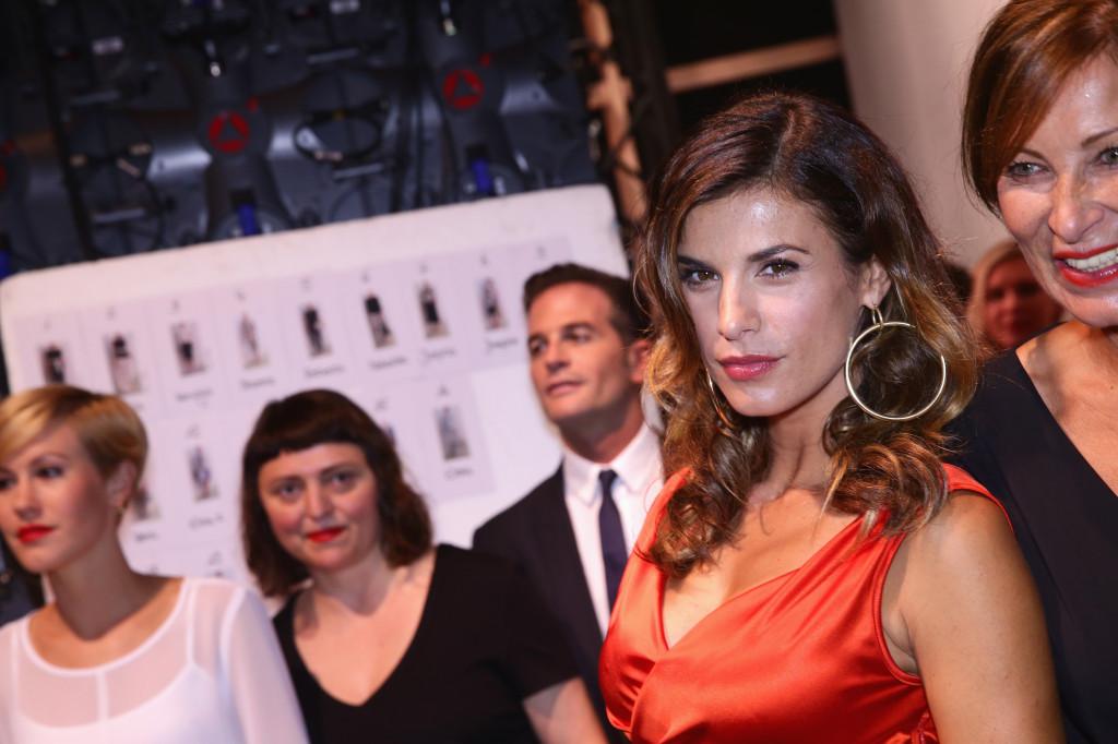 Elisabetta Canalis è stata una delle super ospiti internazionali della settimana della moda di Berlino