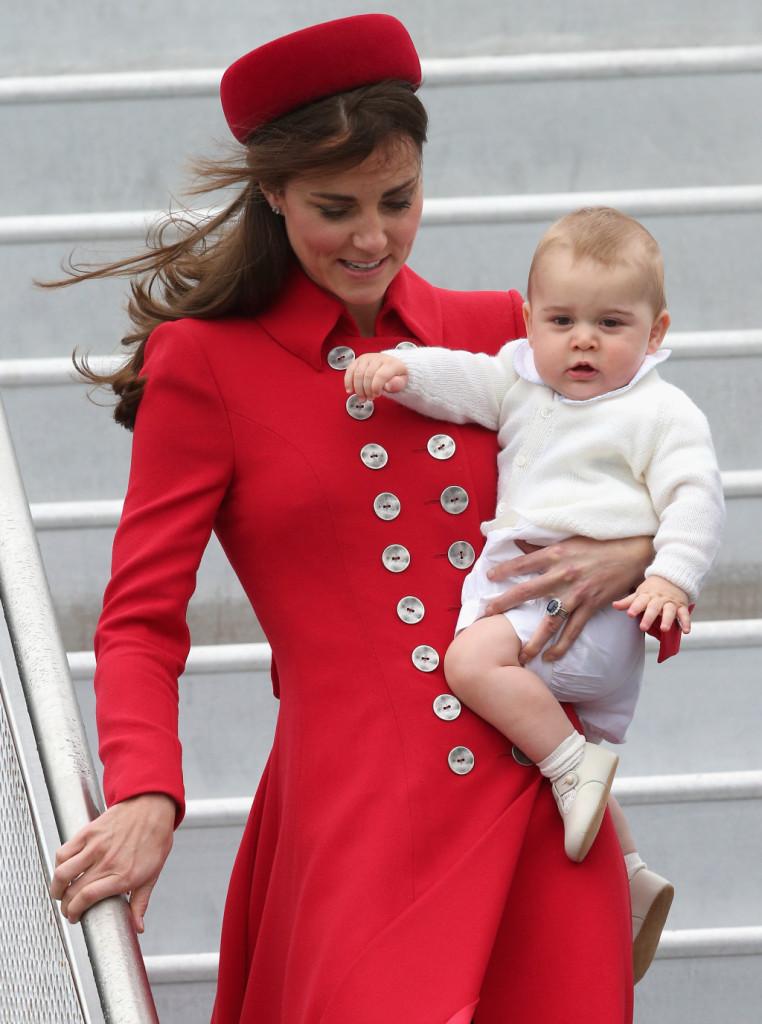 Kate e George di Cambrige: la prima visita ufficiale del principino a Wellington, Nuova Zelanda
