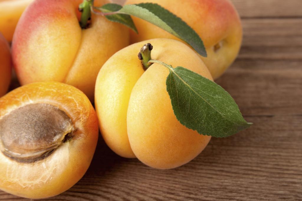 Lealbicocche, di un bellissimo color arancione, ci forniscono il betacarotene che il nostro corpo trasforma in vitamina A