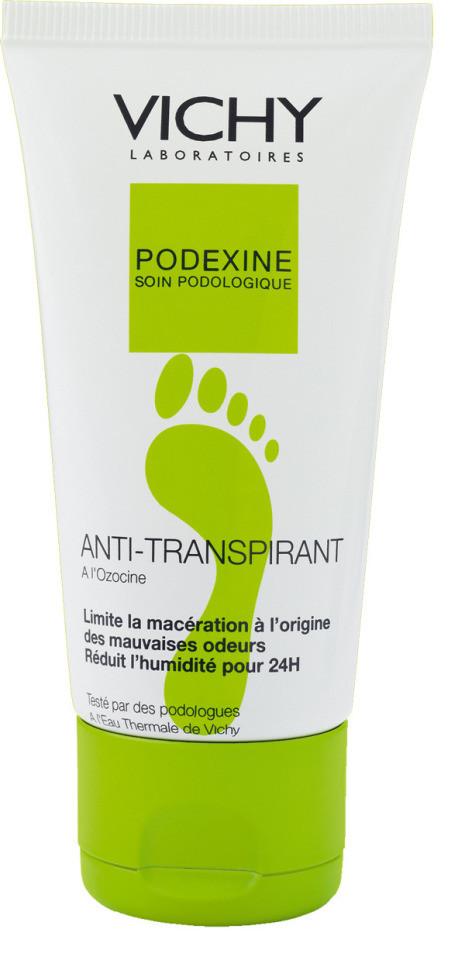 Podexine rigenerante piedi secchi di Vichy - anti odori