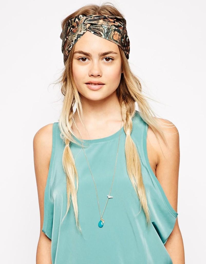 Floreale o a tinta unica un trend di questa estate è il turbante_Asos
