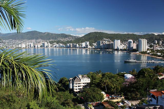 Una delle città più conosciute del Messico, Acapulco