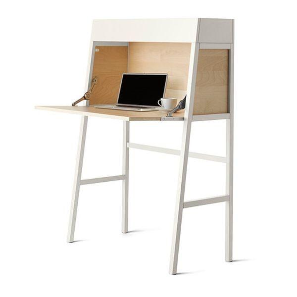 Il secretaire PS 2014 Ikea può essere utilizzato per creare un angolo studio personalizzato e low cost