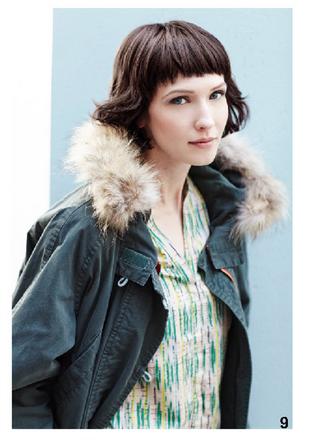 Parka e blusa colorata, di Bensimon, della collezione autunno-inverno 2014-15