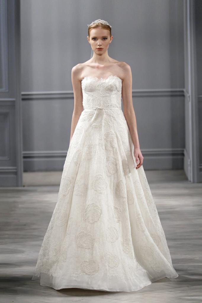 Bloom, collezione sposa di Monique Lhuillier