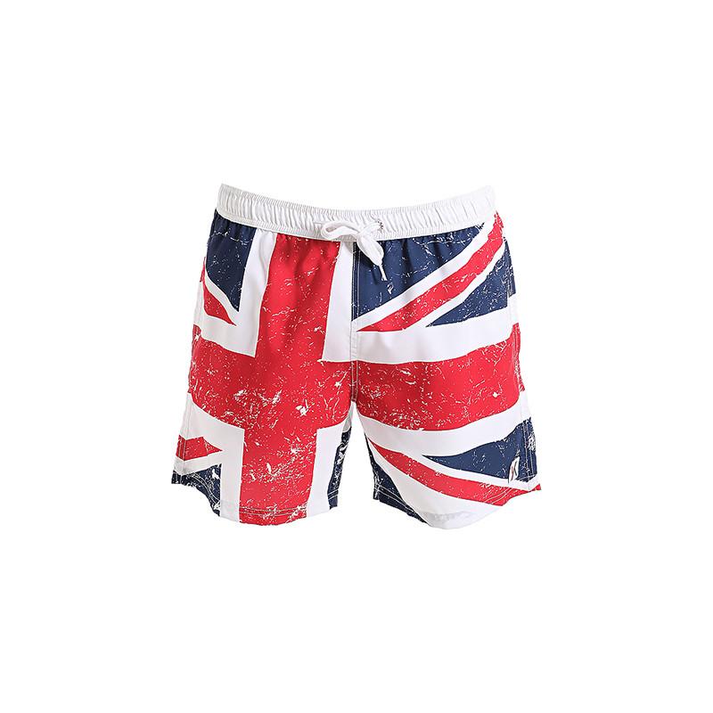 Boxer medio da uomo in poliestere e microfibra con bandiera inglese - 29,90 euro