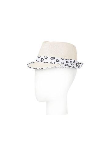 Cappello in paglia con dettagli animarier, di Oviesse