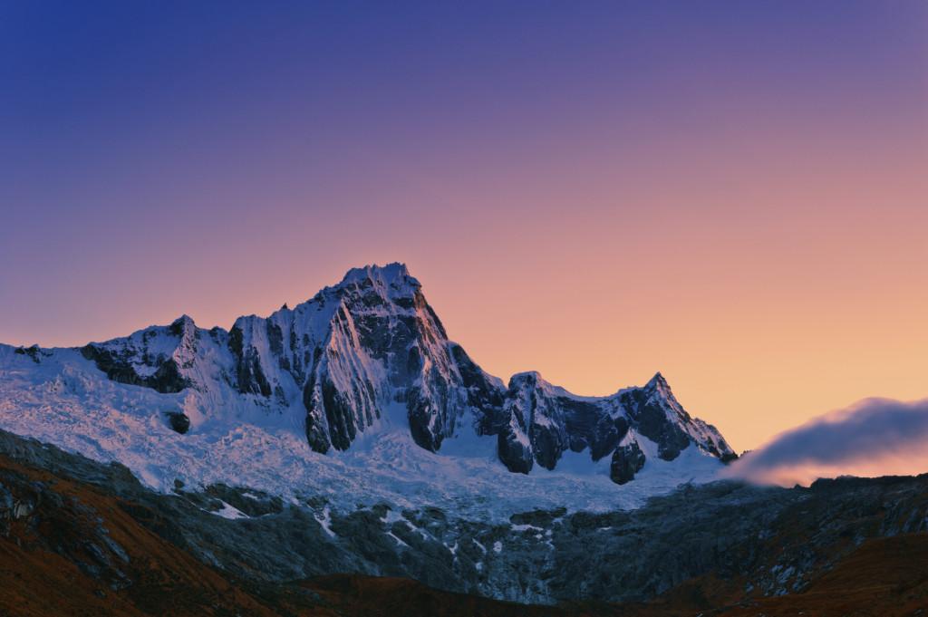 Cordillera Blanca in trekking