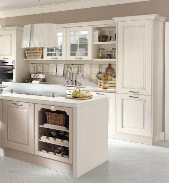 La cucina modello Laura di Lube è