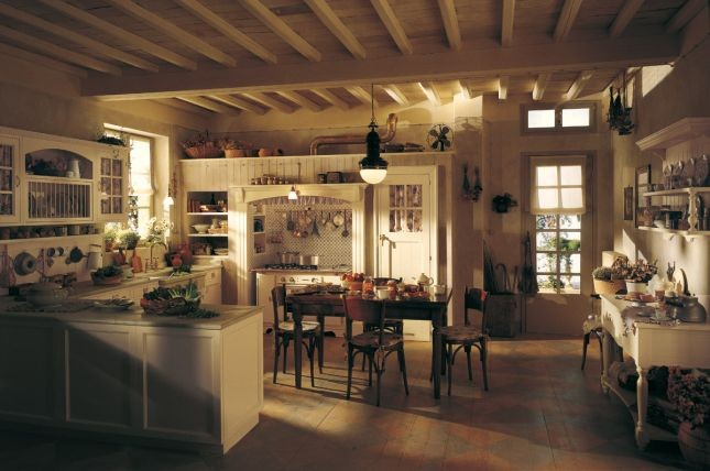 La cucina modello Old England di Marchi Group