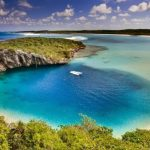 Dean's blue hole - Bahamas