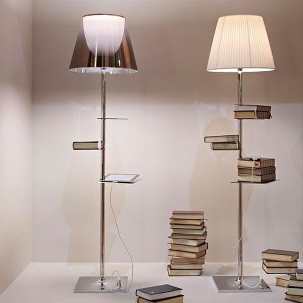 BIBLIOTHEQUE NATIONALE di Philippe Starck è un omaggio agli amanti dei libri e della lettura... con una buona luce