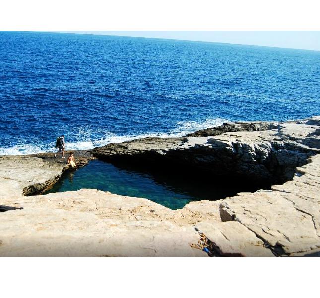 Giola, una piscina naturale in Grecia