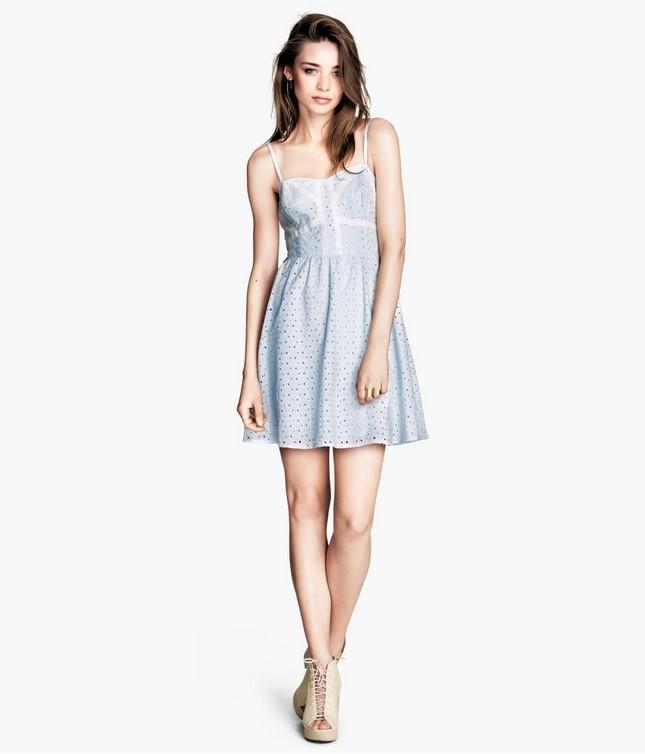 Vestito azzurro, di H&M