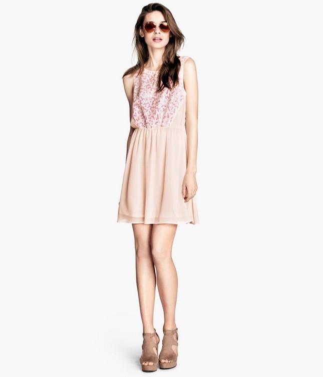Vestito rosa, di H&M