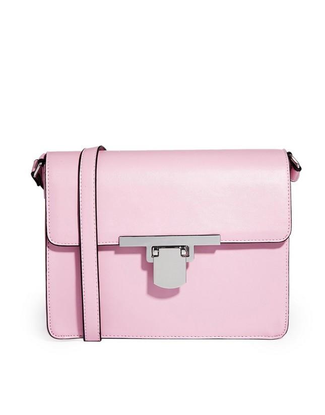 Tracolla rosa pastello, di Asos