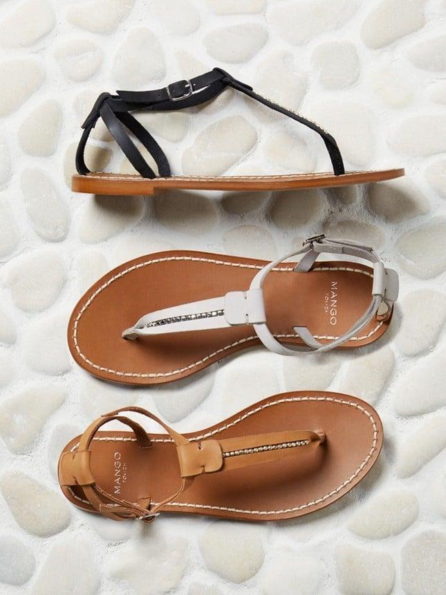 Sandali bassi di Mango