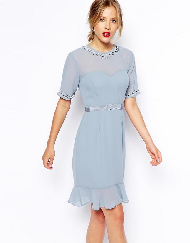 Vestito azzurro di Asos