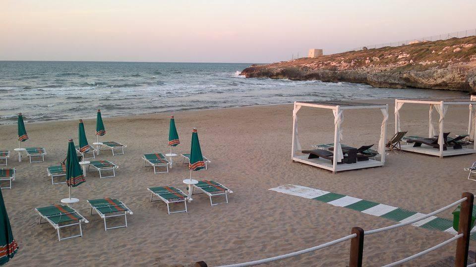 La spiaggia del Gusmay Resort