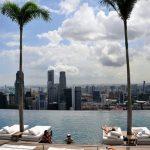 Un hotel che domina... una baia! Hotel Marina Bay, Singapore