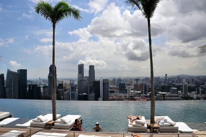 Uno degli hotel più spettacolari del mondo, Hotel Marina Bay di Singapore