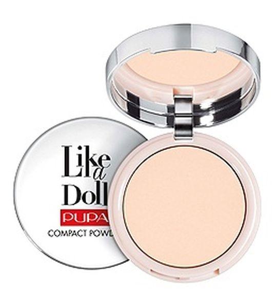 upa Like A Doll Compact Powder è una cipria compatta effetto pelle nuda