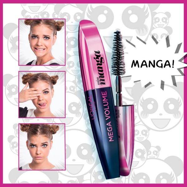 Nel make up nude gli occhi sono in primo piano, grazie a ciglia separate e voluminose, come quelle che si ottengono con L'Oréal Paris Miss Manga