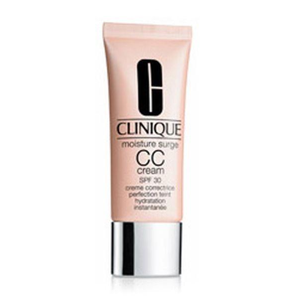 Per pelli delicate e sensibili, la Moisture Surge CC Cream SPF 30 Hydrating Colour Corrector Clinique