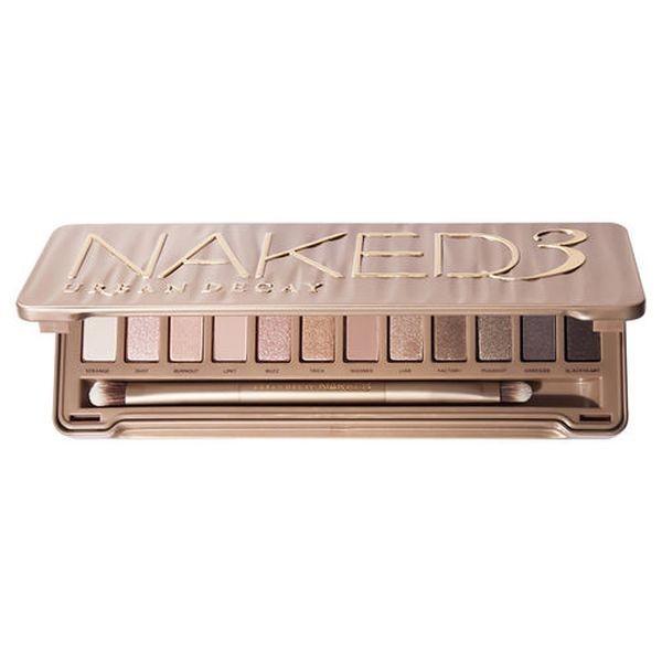 La Palette Naked 3 Urban Decay contiene ombretti dai toni rosati, ideali per il make up nude