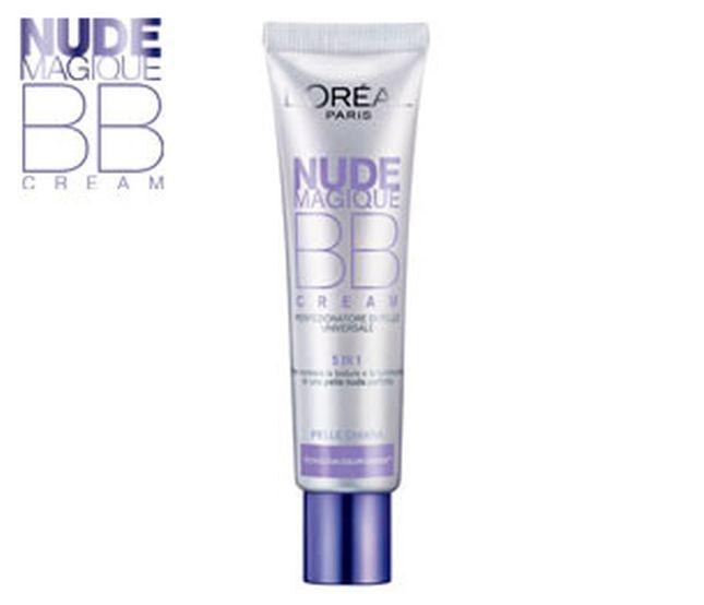 Pelle idratata e perfezionata in un solo gesto con L'Oréal Paris Nude Magique BB Cream