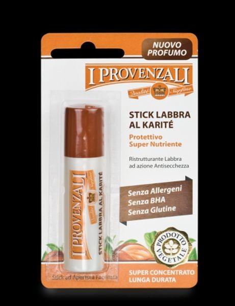 Stick Labbra al Karité de I Provenzali evita screpolature e idrata le labbra