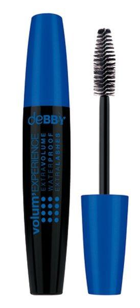 Il mascara DeBBY Volume Experience Waterproof è l'ideale per chi vuole ciglia perfette tutto il giorno