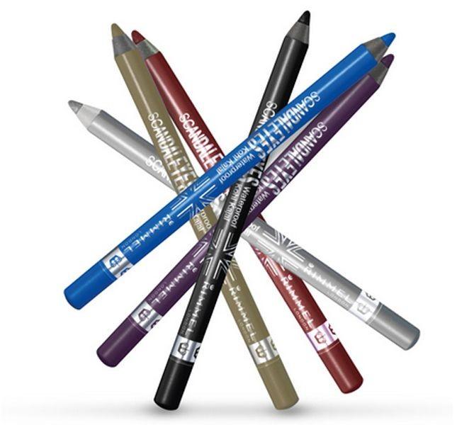 La matita occhi Rimmel ScandalEyes Khol Pencil Deep Blue è l'ideale per ottenere un uno sguardo di un intenso color del mare