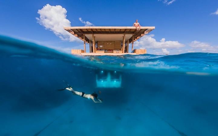 Un hotel... in mezzo al mar: il Manta di Zanzibar