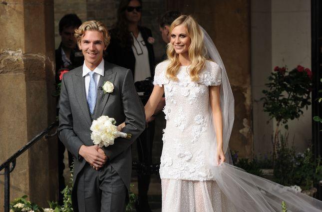 La sorella di Cara Delevingne, Poppy, sposa in Chanel Haute Couture