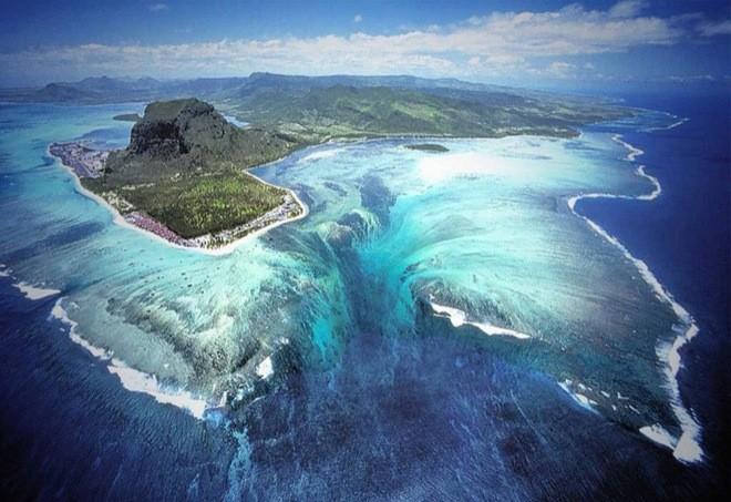 Cascate? No, solo un'illusione - Mauritius