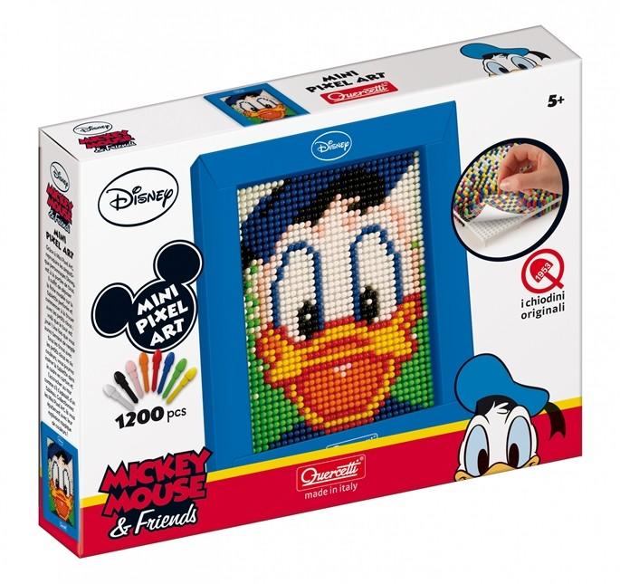 Mini Pixel Art Donald chiodini, età 5+ prezzo 7,90 Euro