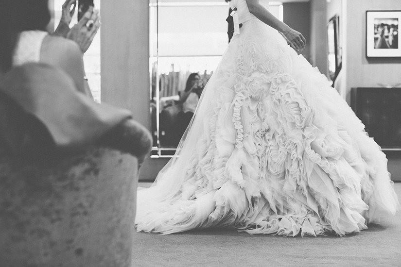 Monique Lhuillier abiti da sposa / Pagina Fb