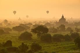 Un vero e proprio spettacolo questo panorama, in Myanmar