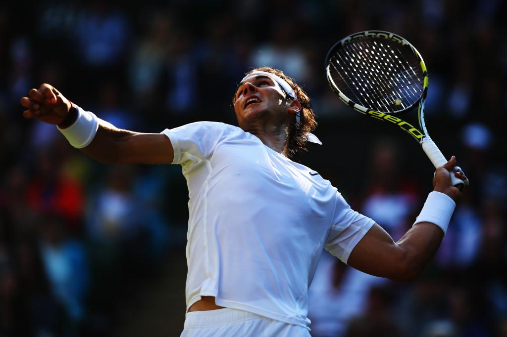 Il tennista spagnolo incarna perfettamente il mood Rushed
