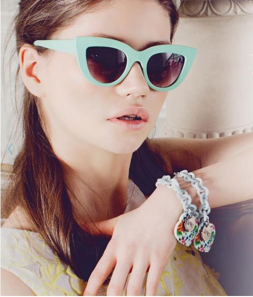 Il marchio di bijoux Ops!Objects crea la linea di eyewear Ops!Shades. I modelli dell'estate 2014? Ops!Kitti e Ops!Venna