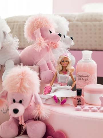 Particolare della cameretta Barbie Atena 120