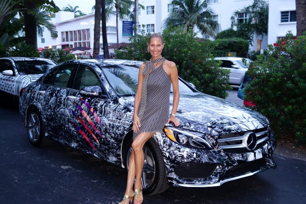 Sulla Mercedes disegnata dallo stilista australiano di We Are Handsome, Jeremy Somers