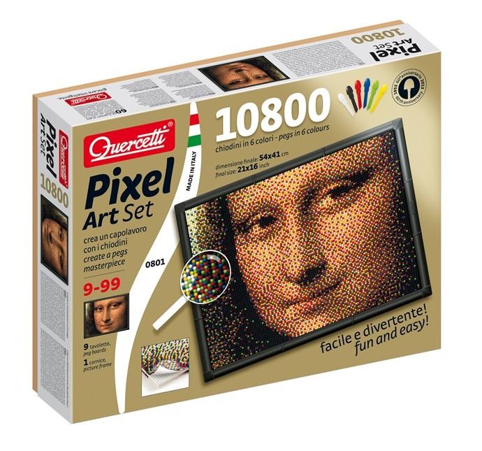Pixel Art Gioconda chiodini. età 10+ prezzo 34,90 Euro