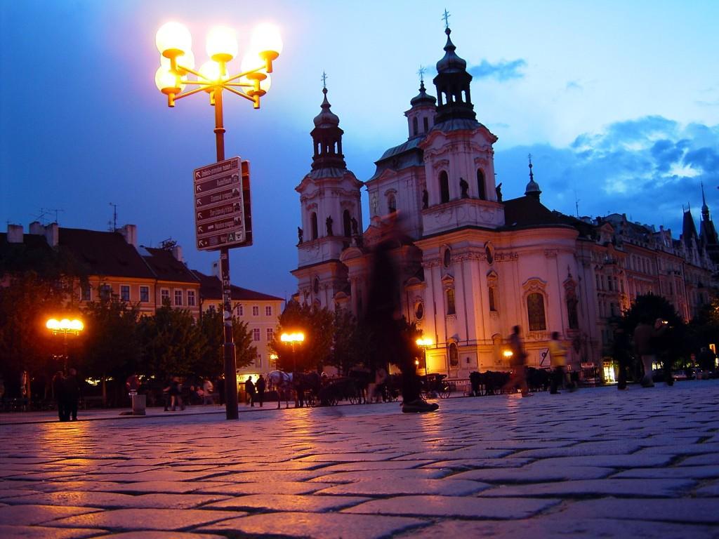 Praga di notte / wikimedia