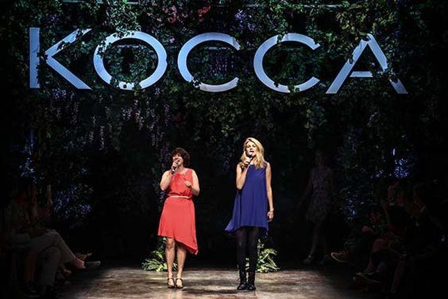 Grande successo per la sfilata Kocca PE 2015, in scena nella suggestiva cornice di Palazzo Serbelloni a Milano