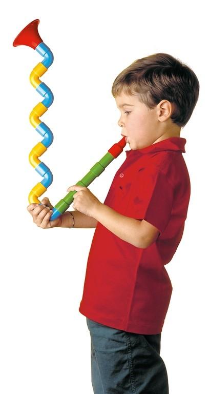 Saxoflute -Strumento musicale da costruire, età 2+ prezzo 6,90 Euro