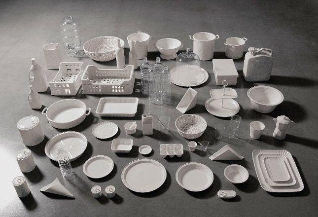 La collezione Seletti Estetico Quotidiano ispirata al packaging usa e getta