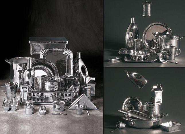 La collezione Seletti Estetico Quotidiano Silver Edition