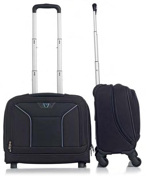 Valigia a cabina Roncato, modello Ready Business, è comodo grazie alle dimensioni ed è perfetto per chi porta con se il pc e i documenti